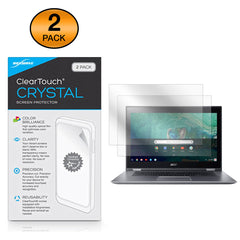 ClearTouch Crystal (2-Pack) - Acer Chromebook Spin 15 (CP315) Screen Protector