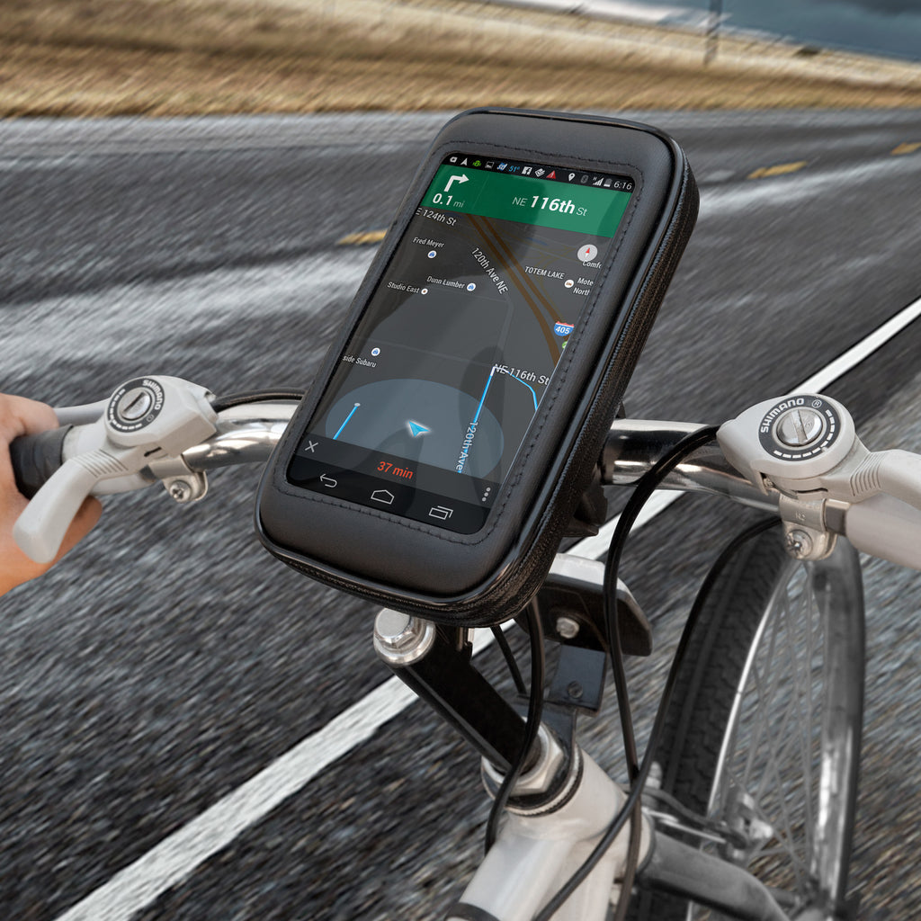 AeroTrek Smartphone Bike Mount - Samsung Galaxy S4 Stand and Mount