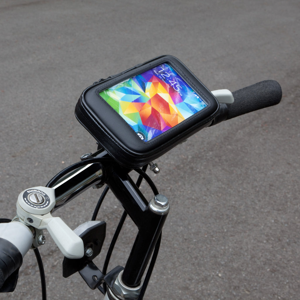 AeroTrek Smartphone Bike Mount - Samsung Galaxy S5 Stand and Mount