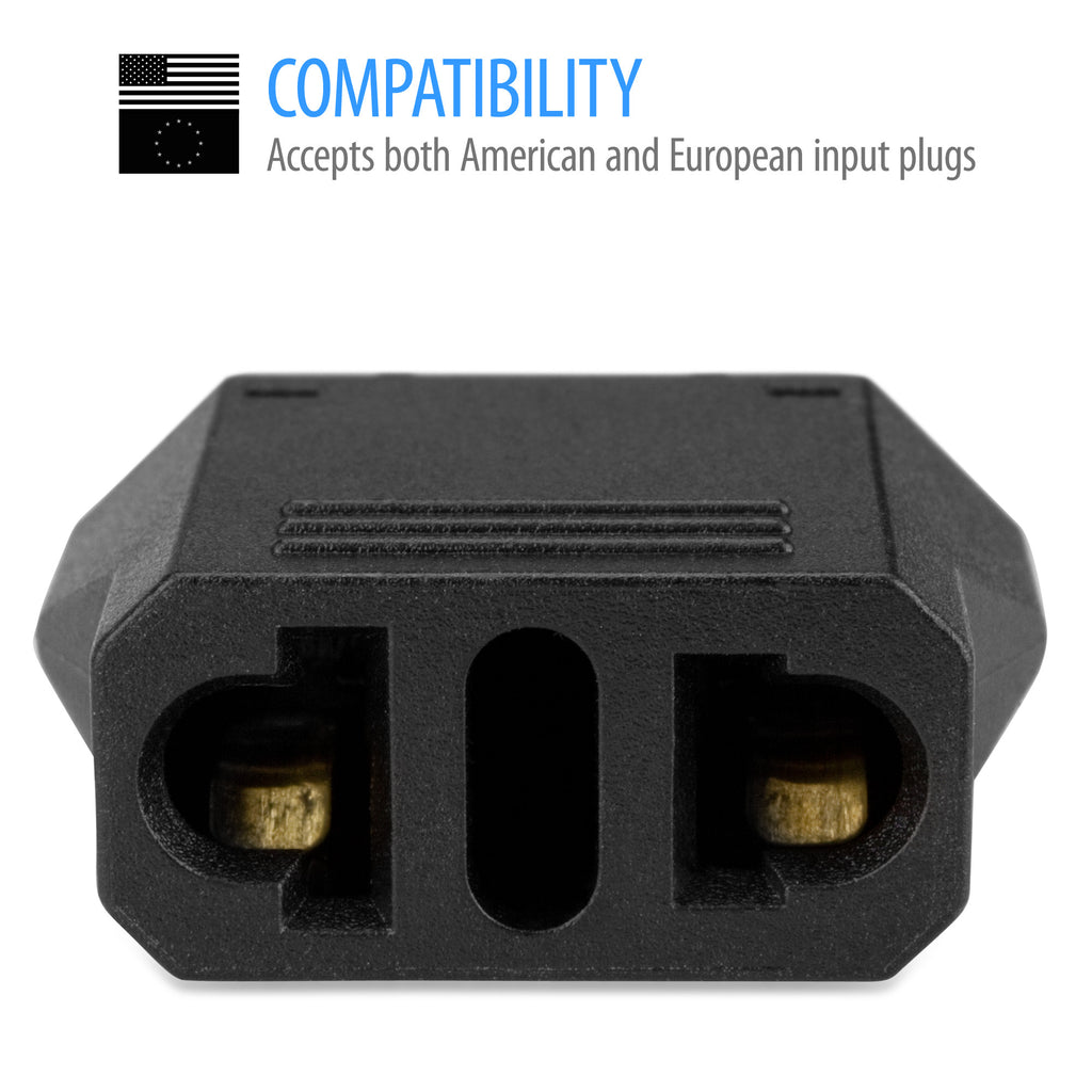 American/European to Australian/New Zealand Outlet Plug Adapter