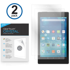 ClearTouch Crystal (2-Pack) - Amazon Fire HD 8 Screen Protector