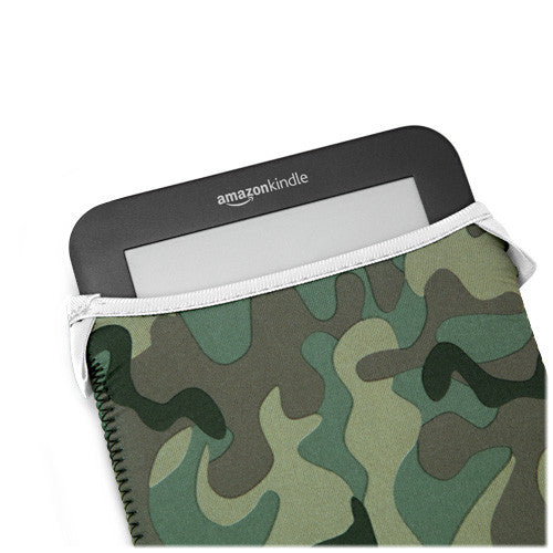 Camouflage SlipSuit - Amazon Kindle Touch Case