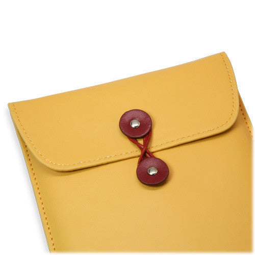 Manila Leather Envelope - Amazon Kindle Keyboard 3G Case