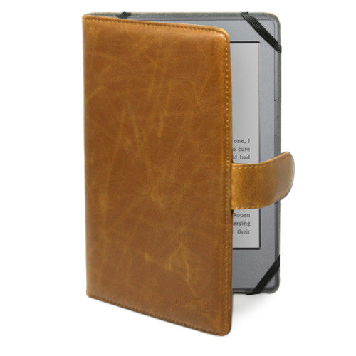 Sienna Leather Elite Case - Amazon Kindle 4 Case