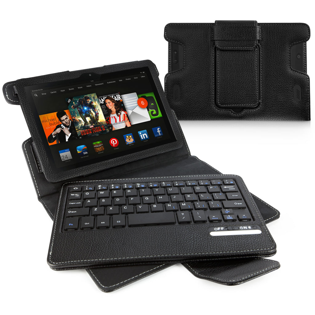Keyboard Buddy Folio Case - Amazon Kindle Fire HD 7.0 (2013) Case