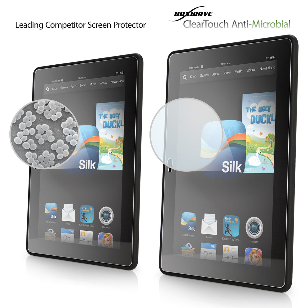 ClearTouch Antimicrobial - Amazon Kindle Fire HDX 7.0 Screen Protector