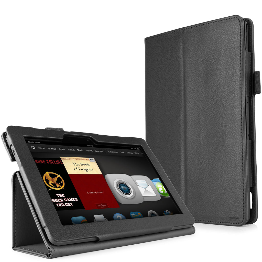 Folio Stand Kindle Fire HDX 8.9 (2013) Case with Strap