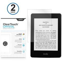 ClearTouch Crystal (2-Pack) - Amazon Kindle Paperwhite Screen Protector