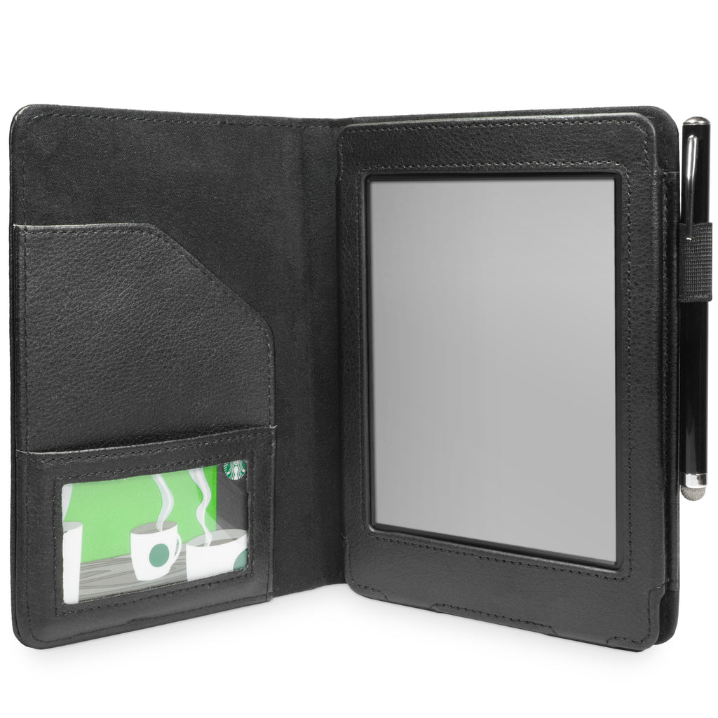 Executive Leather Folio Case - Amazon Kindle Paperwhite Case