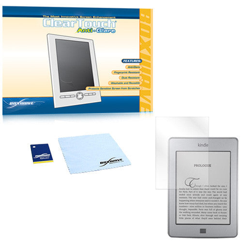 ClearTouch Anti-Glare - Amazon Kindle Touch Screen Protector