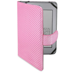 Satin Pink Leather Elite Case - Amazon Kindle Paperwhite Case