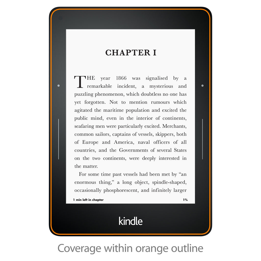 ClearTouch Anti-Glare (2-Pack) - Amazon Kindle Voyage Screen Protector