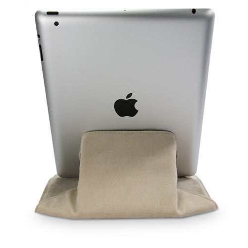 Velvet Pouch Stand - Apple iPad 2 Case