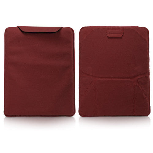 Velvet Pouch iPad 3 Stand
