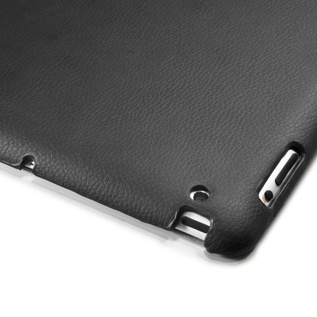 Smart Leather Back Cover - Apple iPad 3 Case
