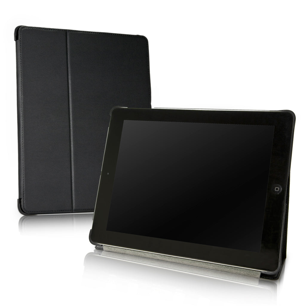 Nero Leather Smart Nuovo iPad Case - Apple iPad 4 Case