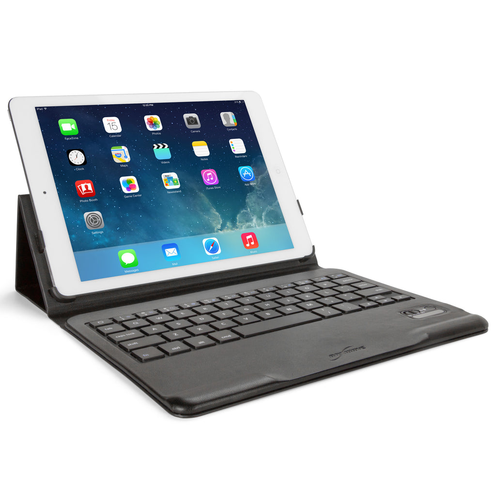 Elite Leather Keyboard Buddy Folio Case - Apple iPad Air Case