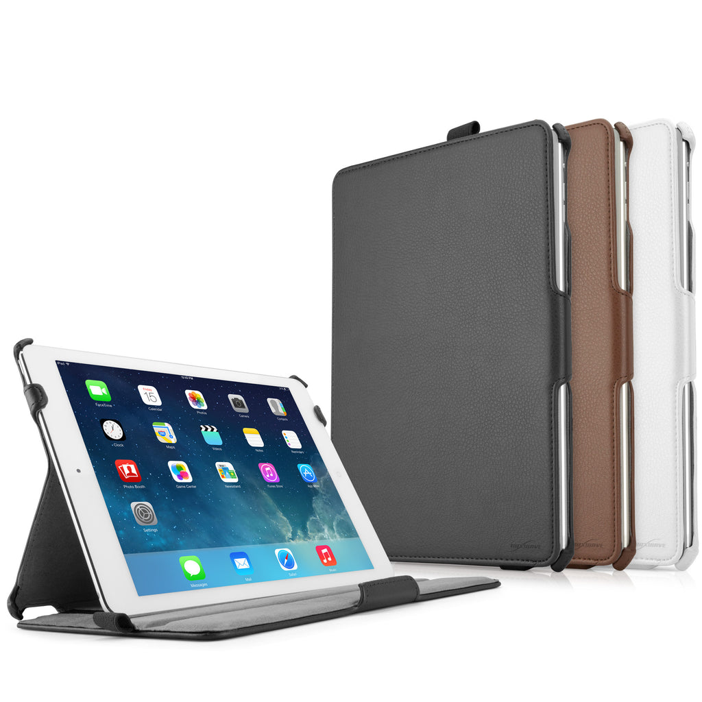 Leather Book Jacket - Apple iPad Air Case