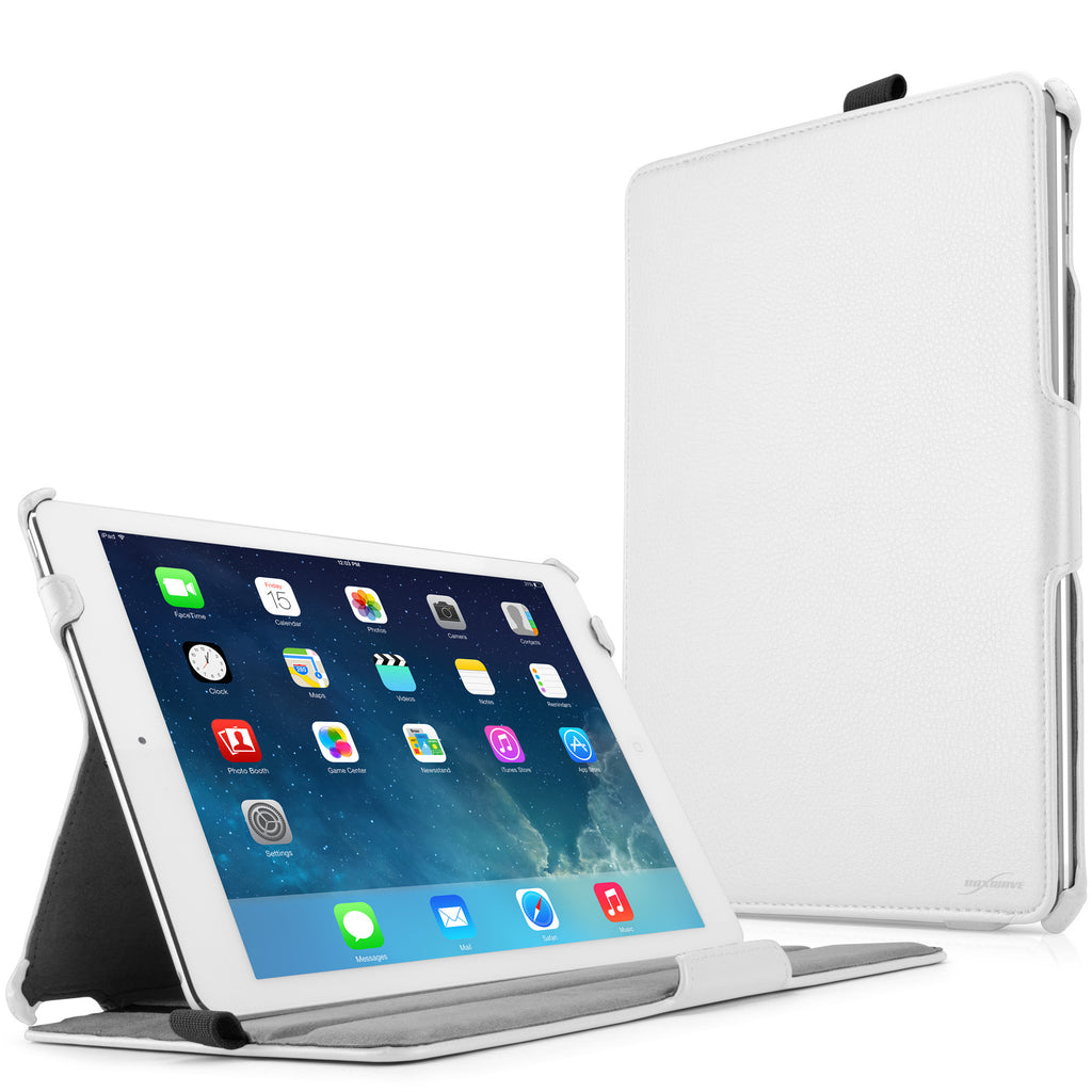 Leather iPad Air Book Jacket