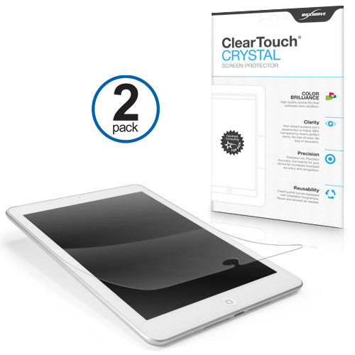 ClearTouch Crystal (2-Pack) - Apple iPad mini with Retina display (2nd Gen/2013) Screen Protector