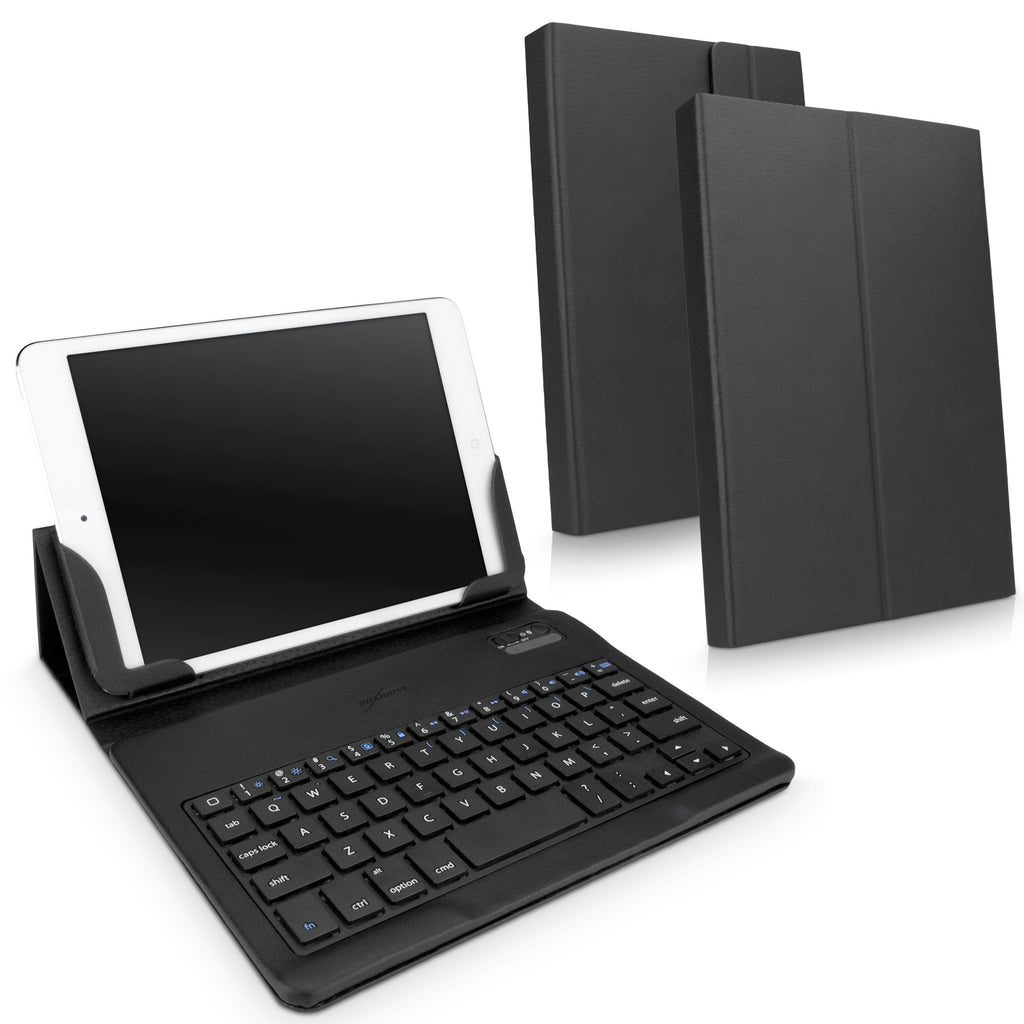 Elite Leather Keyboard Buddy Folio Case - Apple iPad mini (1st Gen/2012) Case