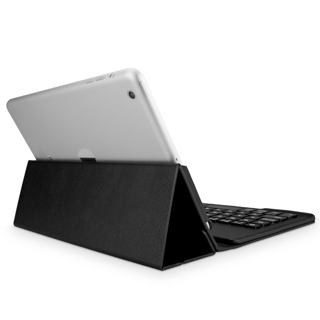 Elite Leather Keyboard Buddy Folio Case - Apple iPad mini with Retina display (2nd Gen/2013) Case