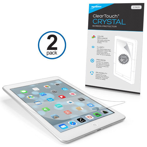 ClearTouch Crystal (2-Pack) - Apple iPad mini 3 Screen Protector