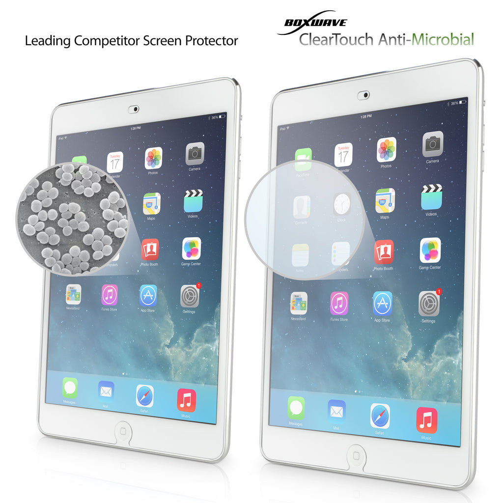 ClearTouch Antimicrobial - Apple iPad mini with Retina display (2nd Gen/2013) Screen Protector