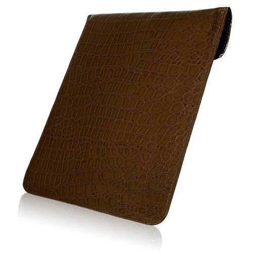 Patent Leather Crocodile iPad 3 Pouch
