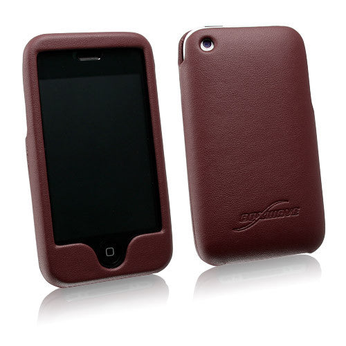 Designio Leather iPhone 3G Shell Case