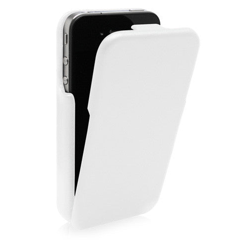Designio Leather Flip Case - Apple iPhone 4S Case