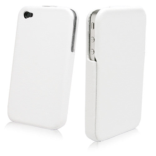 Designio Leather Flip iPhone 4S Case