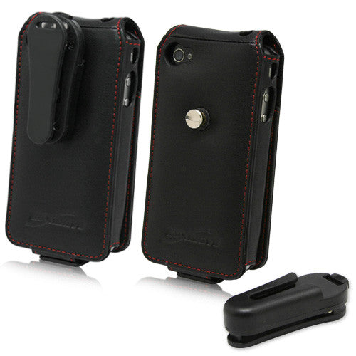CorsaModa Leather Case - Apple iPhone 4S Case
