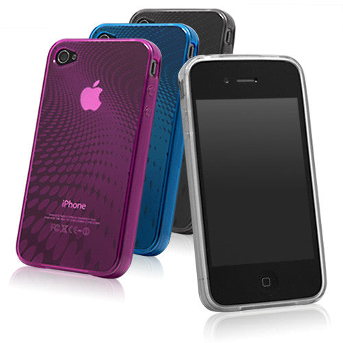 Digital Wave Crystal Slip - Apple iPhone 4 Case