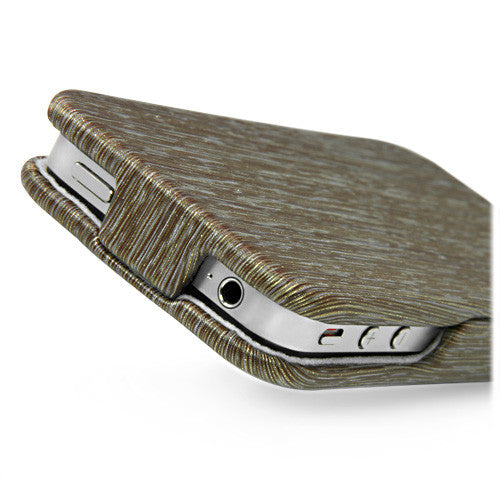Gold Rain Flip Case - Apple iPhone 4S Case