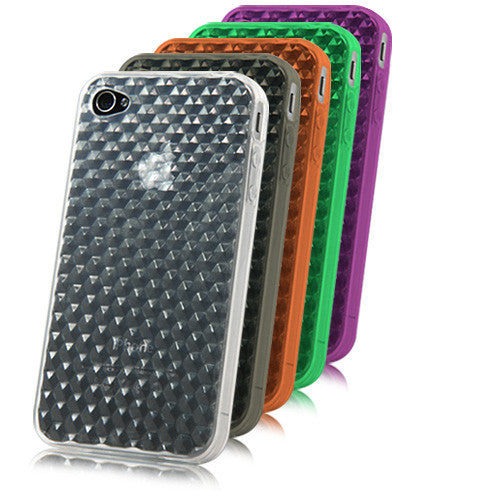 Honeycomb Crystal Slip - Apple iPhone 4 Case