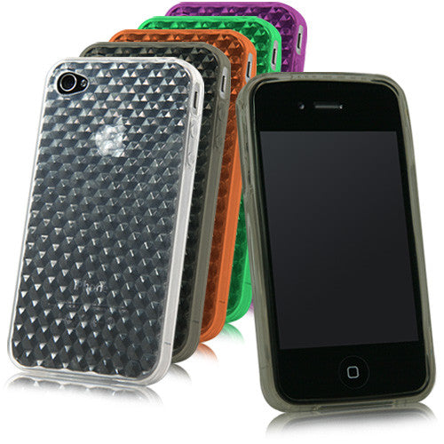 Honeycomb Crystal Slip - Apple iPhone 4S Case