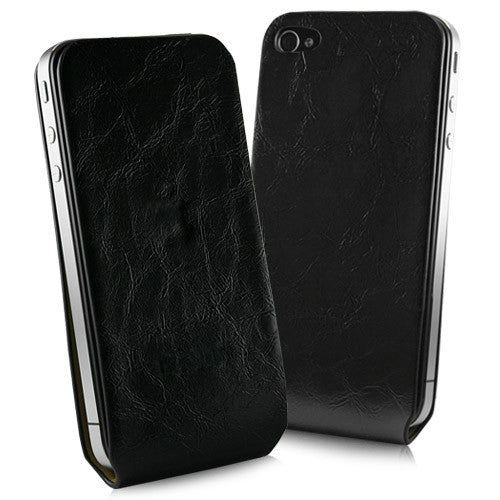 iPhone 4 Leather Wrap