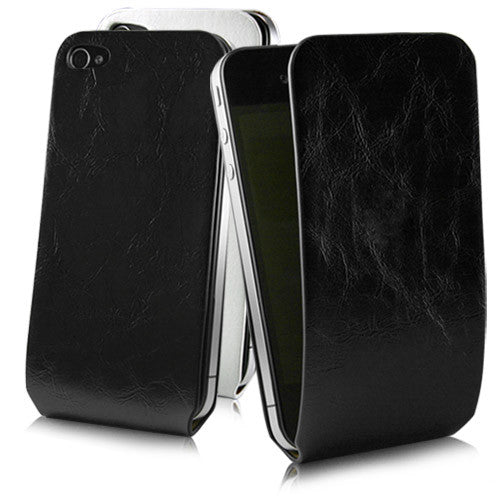 Leather Wrap - Apple iPhone 4 Case