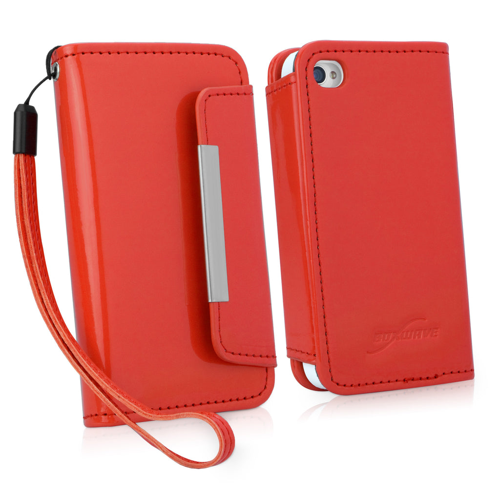 Patent Leather Clutch iPhone 4S Case