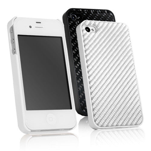 True Carbon Fiber Case - Apple iPhone 4 Case