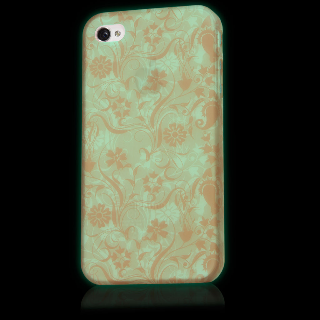 Vintage Bloom Glow Case - Apple iPhone 4S Case