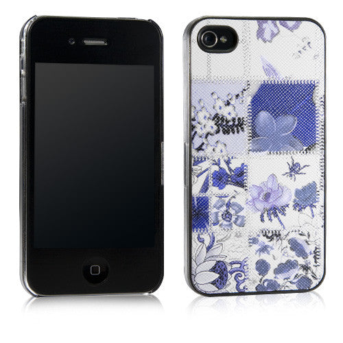 Violet Blossom Case - Apple iPhone 4 Case