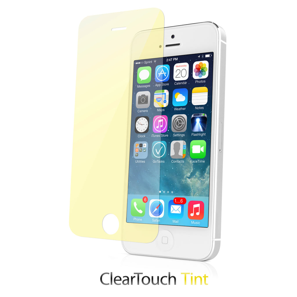 ClearTouch Glass Tinted - Apple iPhone 5 Screen Protector