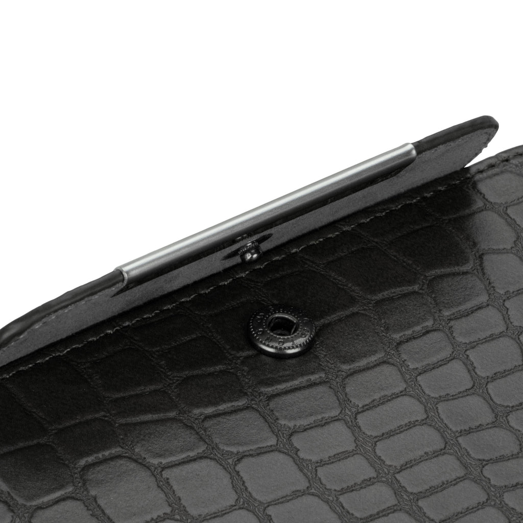Crocodile Leather Clutch Case - Apple iPhone 5 Case
