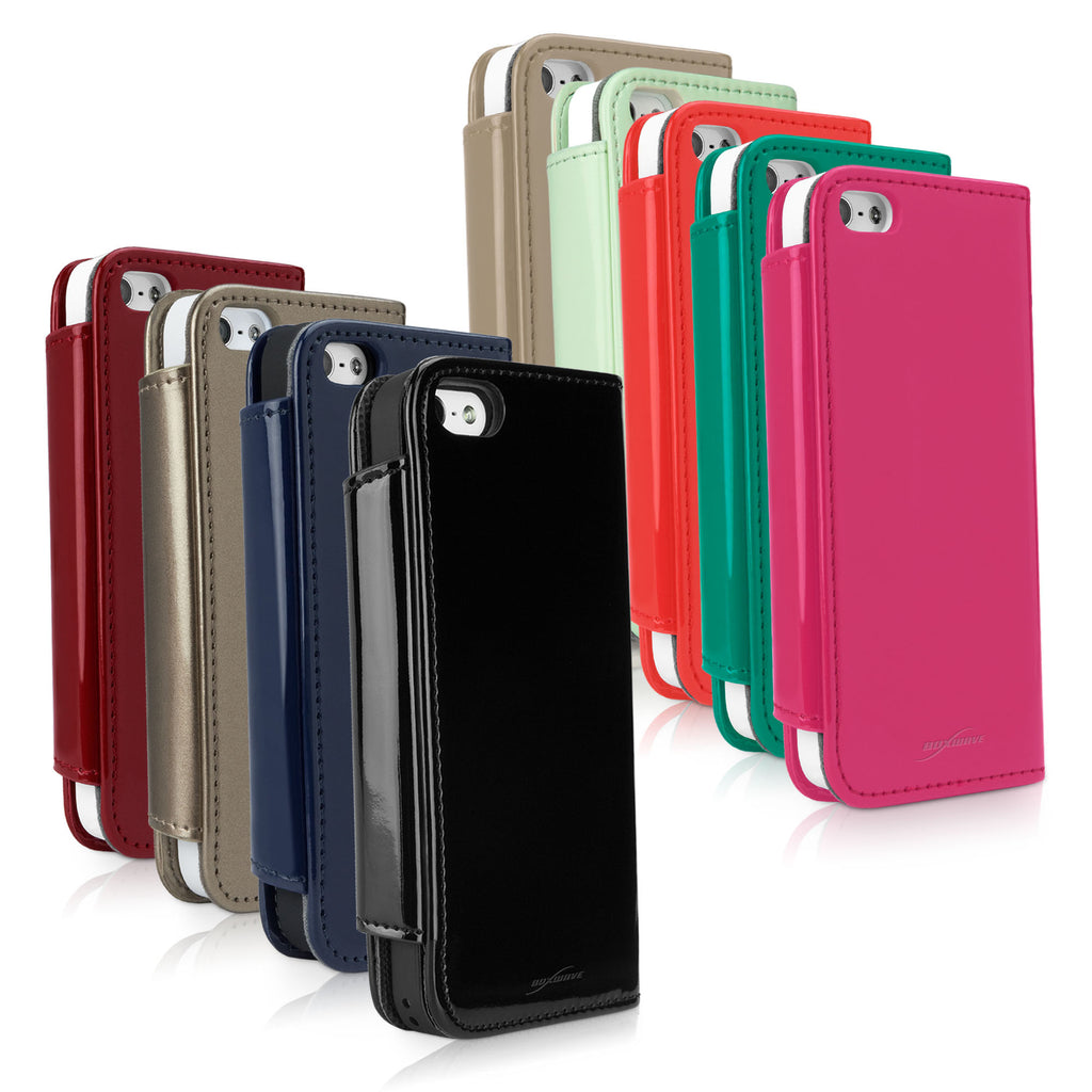Patent Leather Clutch Case - Apple iPhone 5 Case
