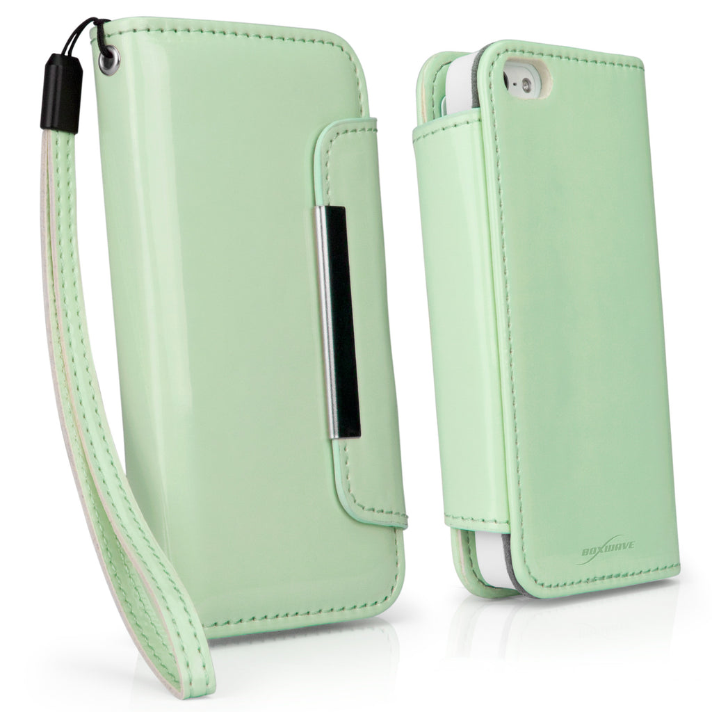 Patent Leather Clutch iPhone 5 Case