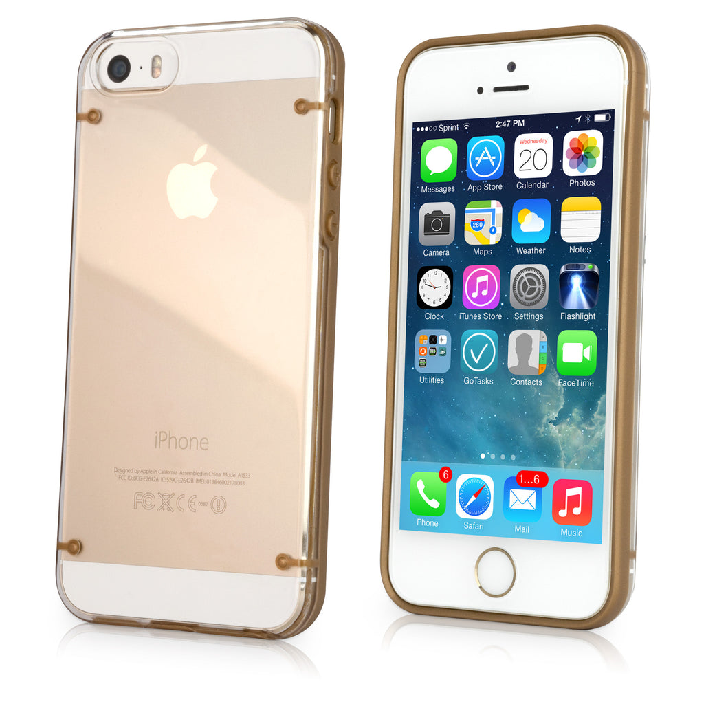 SimplyGold Case - Apple iPhone 5 Case