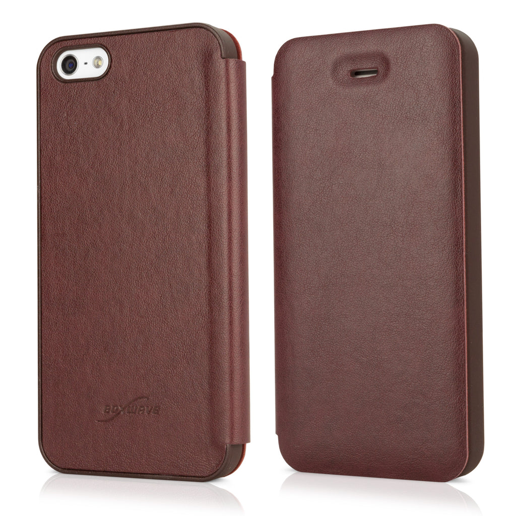 SlimFlip Leather iPhone 5 Case