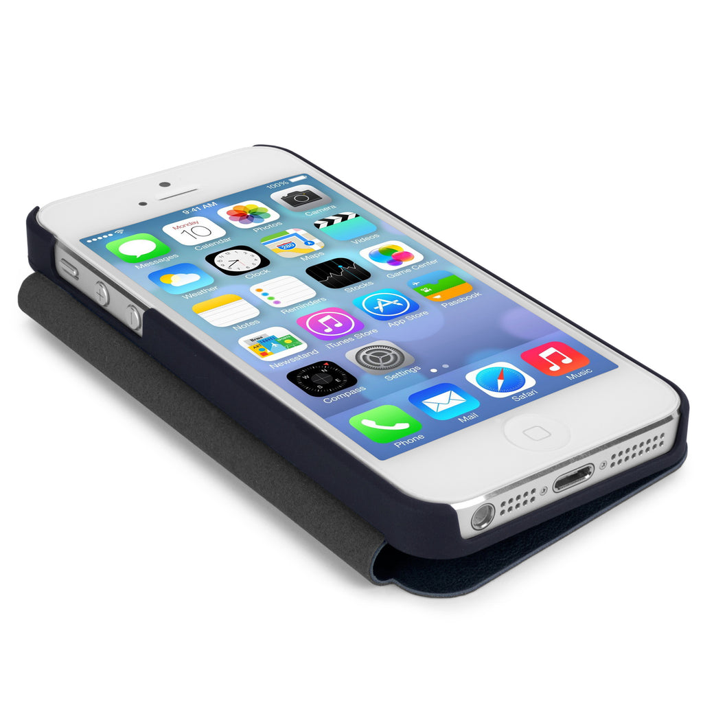 SlimFlip Leather Case - Apple iPhone 5 Case